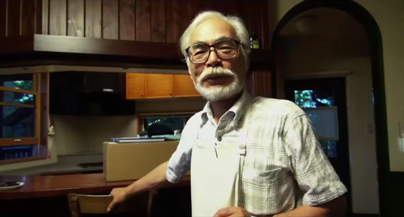 Miyazaki regresa oficialmente de suretiro