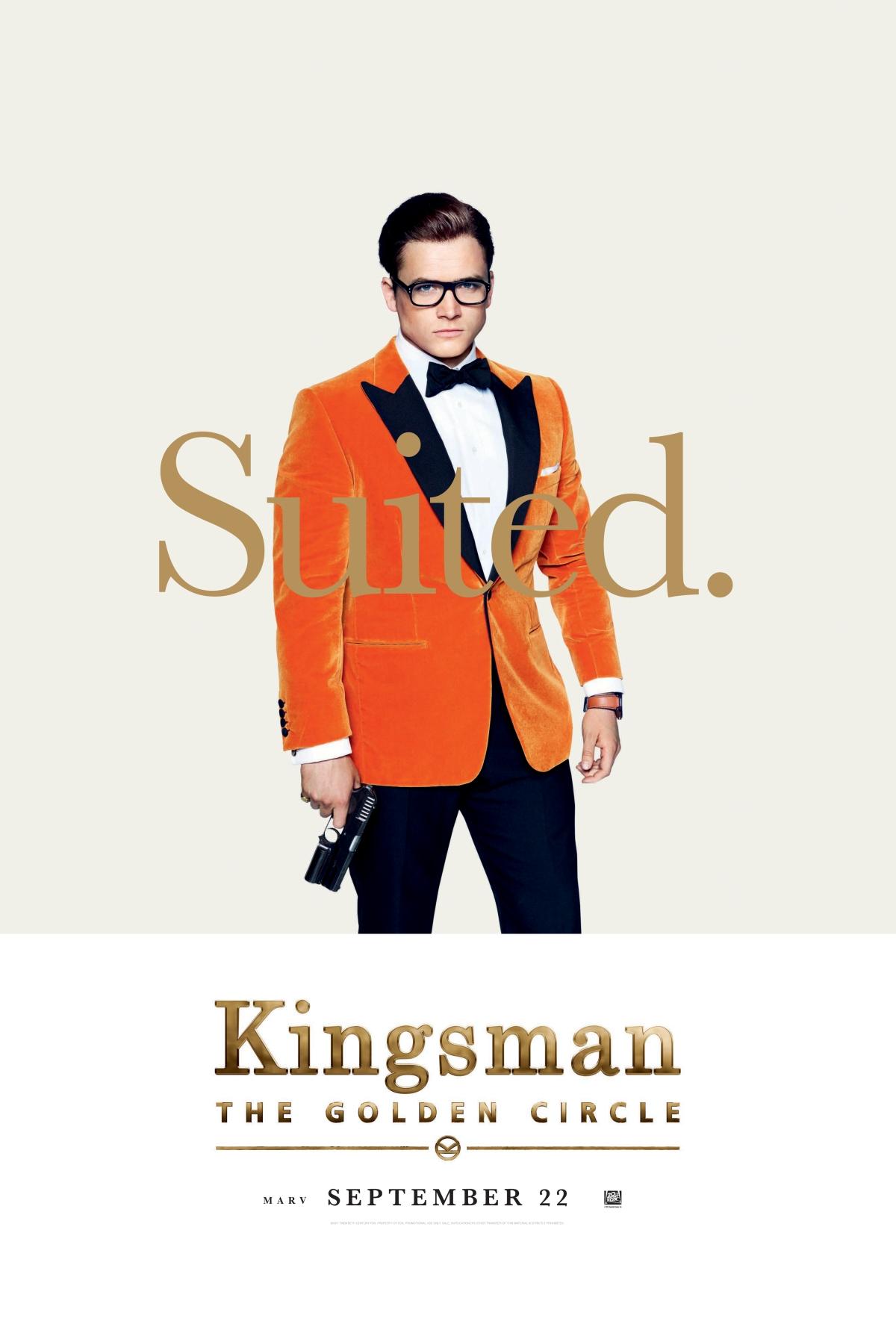 KINGSMAN: THE GOLDEN CIRCLE   SDCC Panel LineupReleased!
