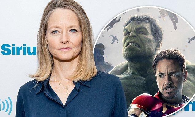 Jodie Foster arremete contra las películas desuperhéroes.