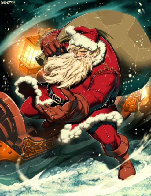Santa Claus, el mutantepoderoso