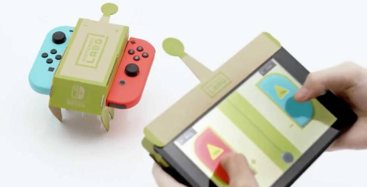 """Nintendo presenta """"LABO"""""""