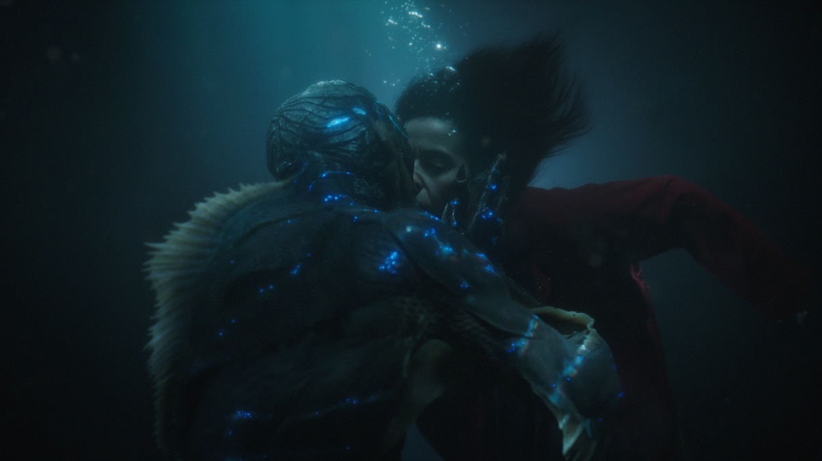 Doug Jones interpreta a una criatura  anfibia en The Shape Of Water