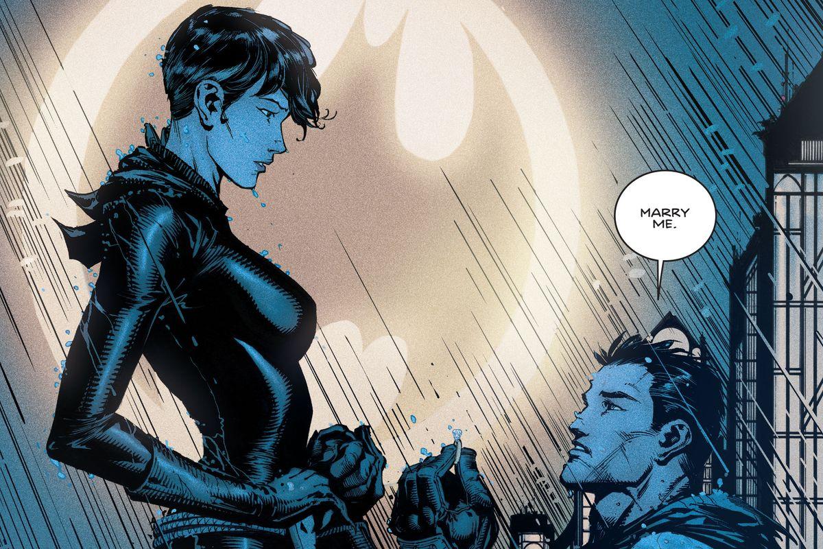 DC comics revela la fecha de boda entre Batman yCatwoman