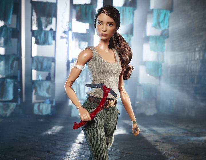 Mattel revela muñeca de TombRaider
