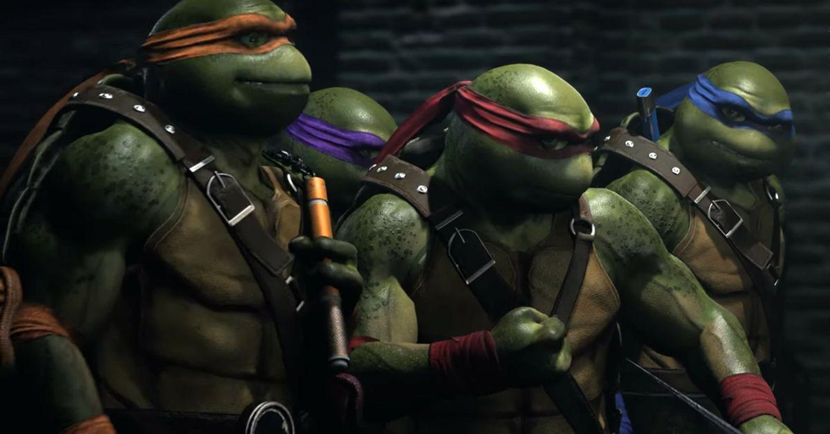 "Primer ""gameplay"" de los Ninja Turtles en Injustice2"