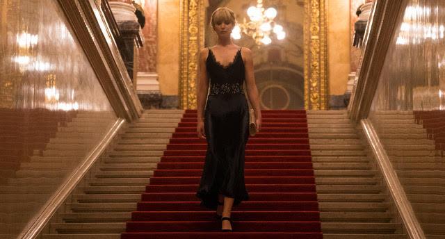 Jennifer Lawrence presenta una interpretación sólida en REDSPARROW