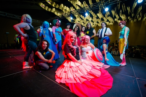 A group of cosplayers strut their stuff at Puerto Rico Comic Con.jpg