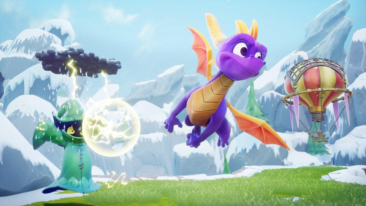 Spyro hace suregreso