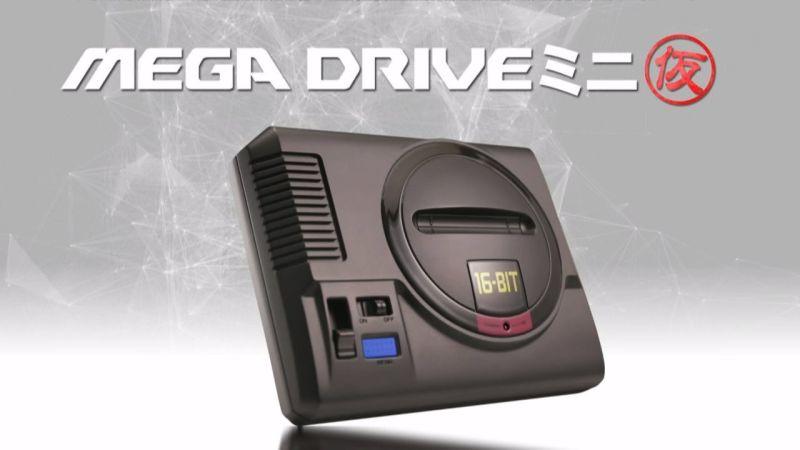 Se anuncia mini consola de Sega MegaDrive