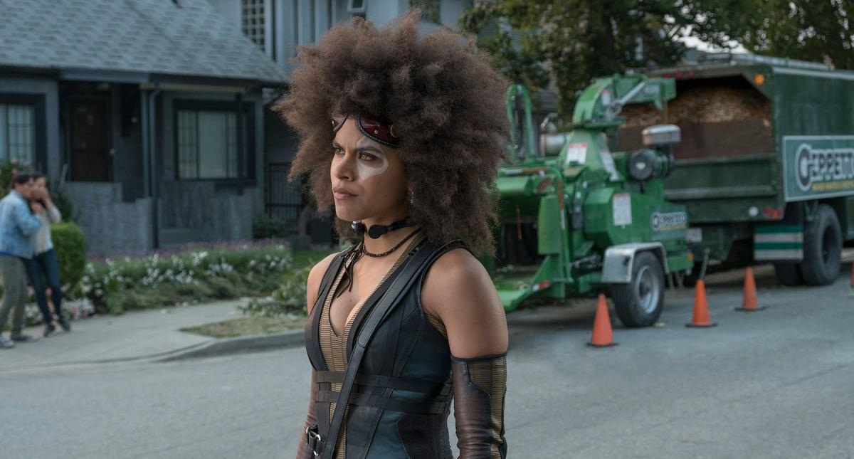 Zazie Beetz dominará como Domino en Deadpool2