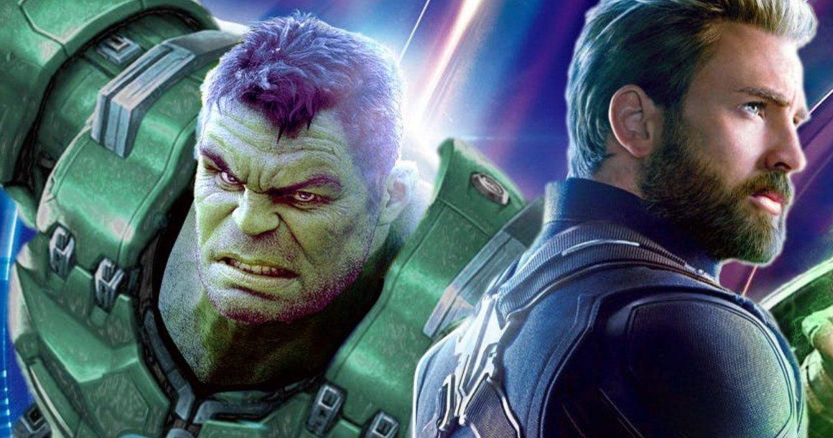 "Se filtran artes conceptuales de ""Avengers4"""