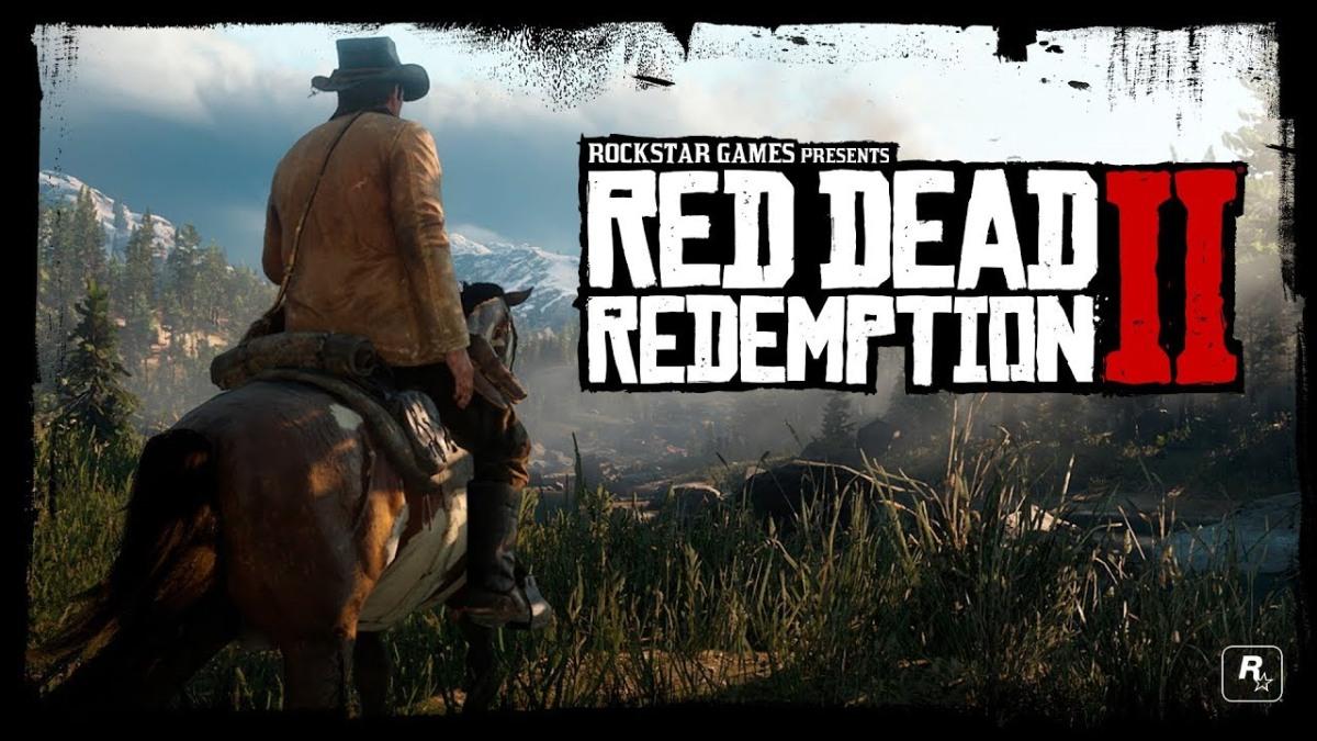 Revelan gameplay trailer de Red Dead Redemption2