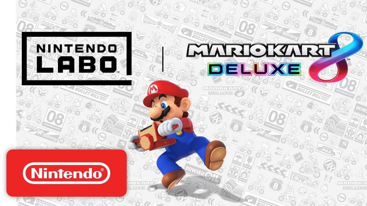 Mario Kart 8 compatible con nuevo kit deLab