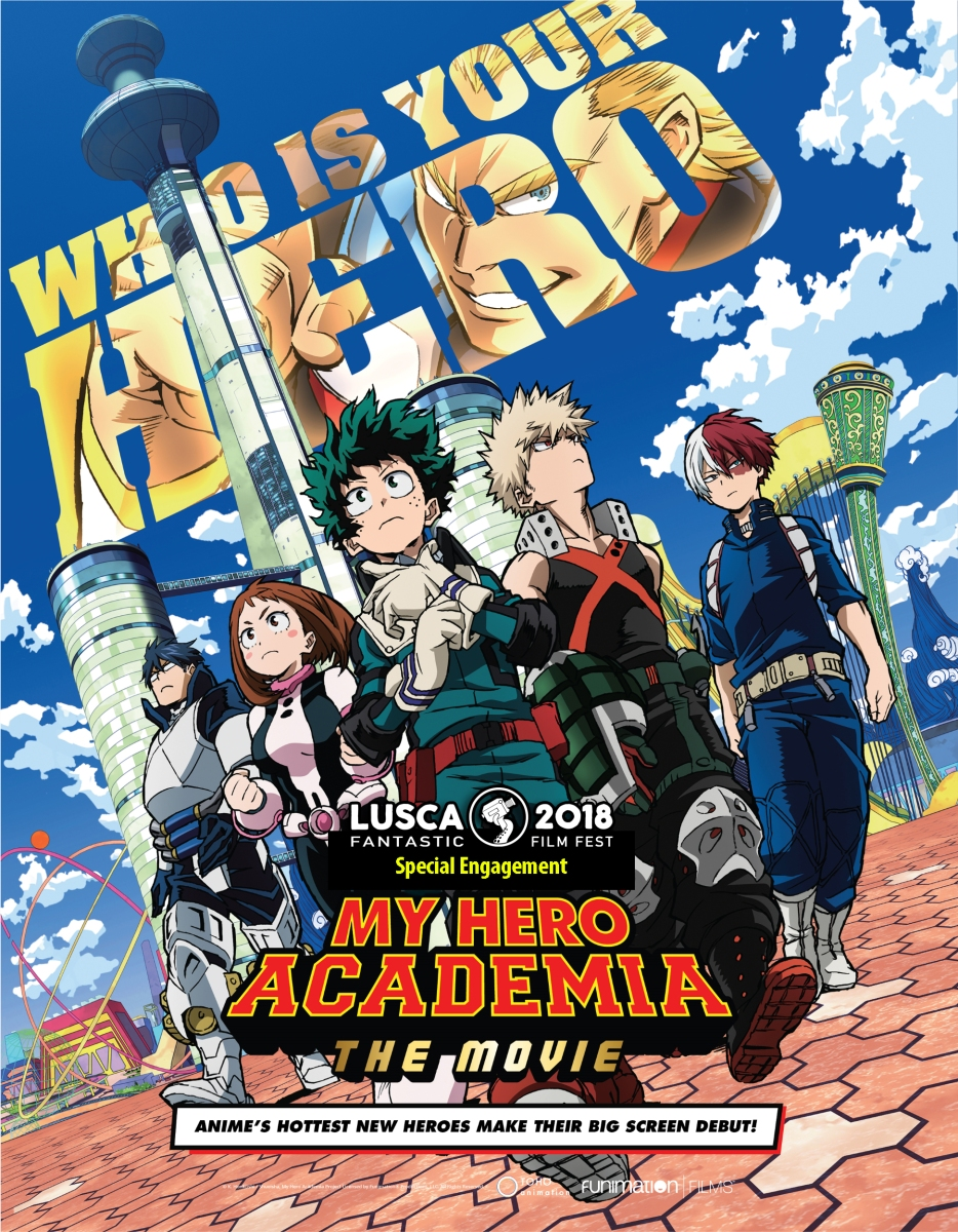 My Hero Academia: The Movie En Puerto Rico