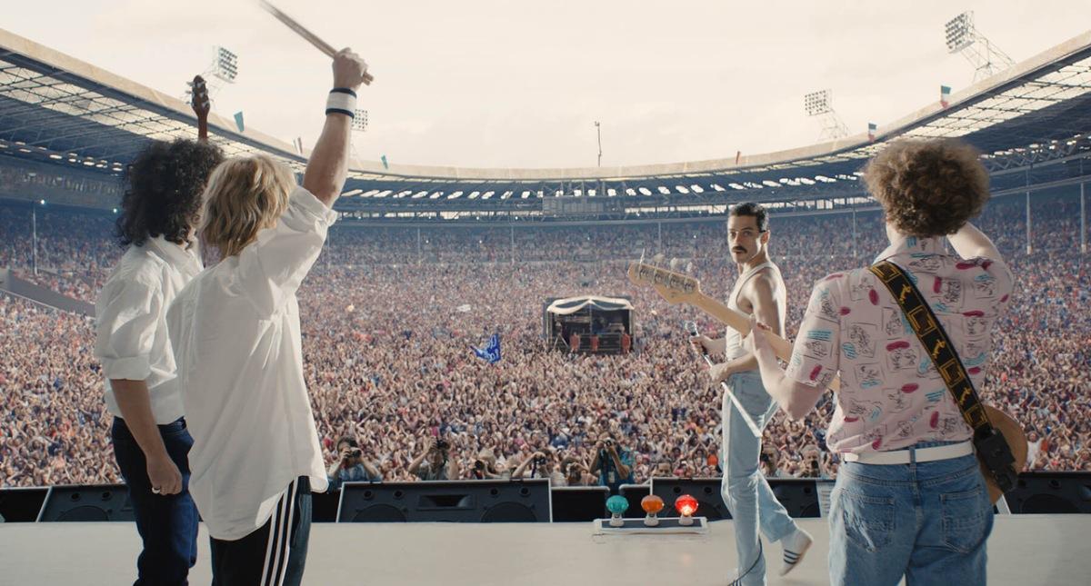 Bohemian Rhapsody lleva al cine uno de los eventos más emocionantes de la historia de la música, el LiveAid