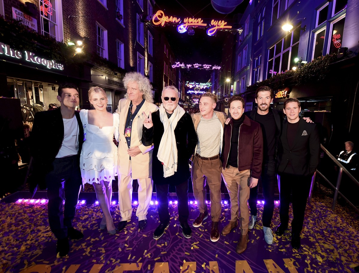 Bohemian Rhapsody en el CarnabyStreet