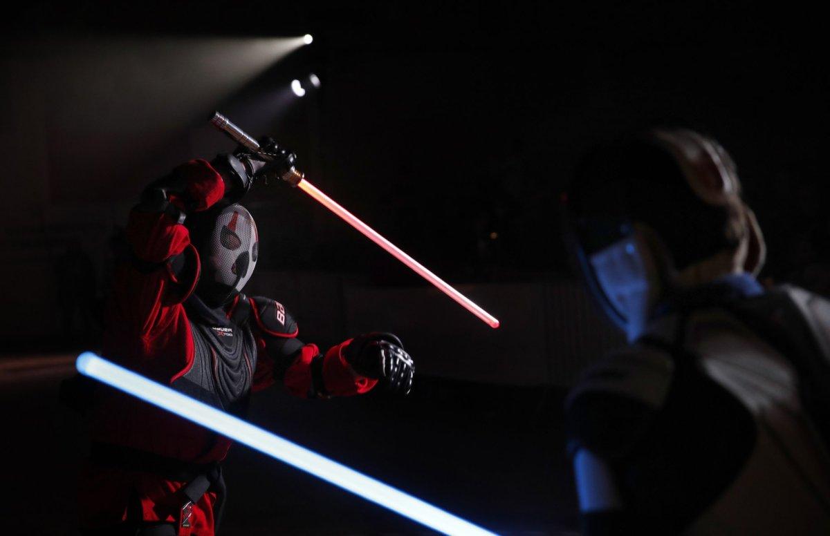 Duelos de lightsabers, un deporte oficial