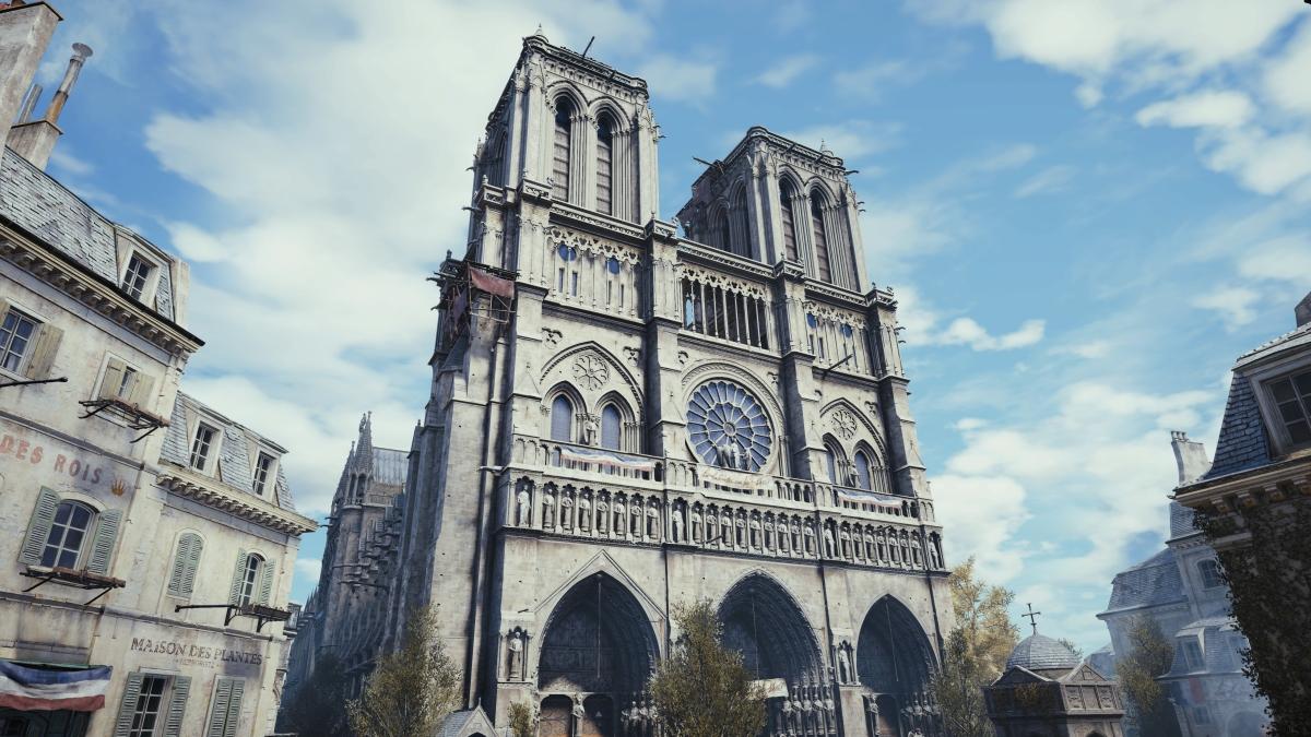 Assassin's Creed Unity será utilizado para reconstruir Notre Dame